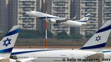 Israel VAE Normalisierung erster Flug
