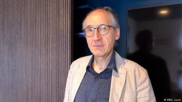 Gérard Biard, redactorul-şef al revistei (DW/L. Louis)