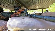 Indien Kaschmir Soldaten an der Grenze zu China