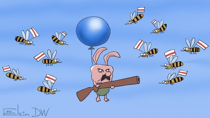 Що вийде, якщо реакцію Лукашенка на протести в Білорусі перекласти на мультфільм про Вінні Пуха? За версією Сергія Йолкіна, з білоруськими бджолами усе гаразд, а от П'ятачок якийсь неправильний.