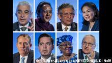 BG Kandidaten für WTO-Spitzenjob - Die acht Kandidaten
