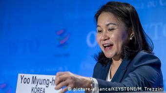 BG Kandidaten für WTO-Spitzenjob - Yoo Myung-hee