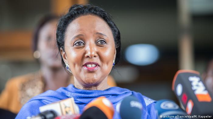 BG Kandidaten für WTO-Spitzenjob - Amina Mohamed (picture-alliance/dpa/M. Kappeler)