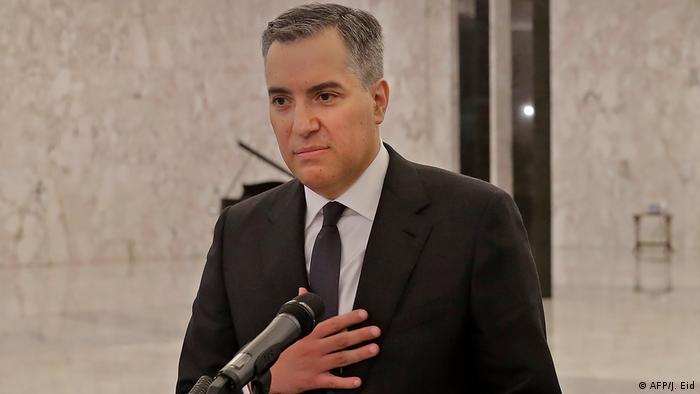 Libanon Neuer Ministerpräsident Mustapha Adib (AFP/J. Eid)