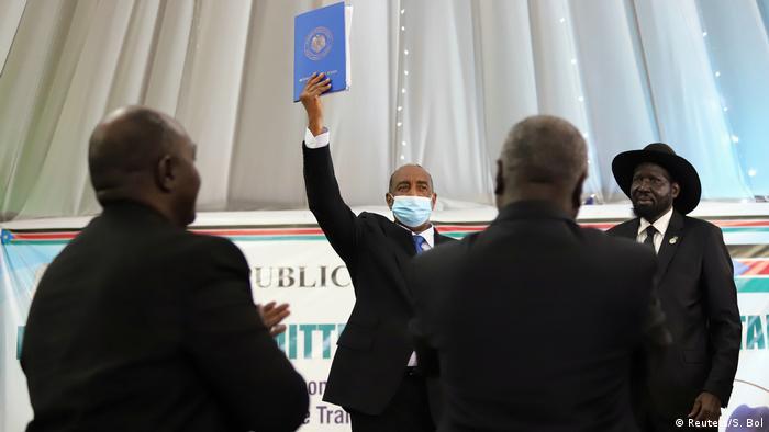 Accord de paix entre le gouvernement soudanais et des mouvements rebelles