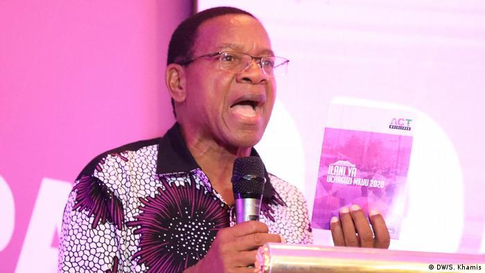 Mgombea urais wa chama cha ACT Wazalendo Bernard Membe