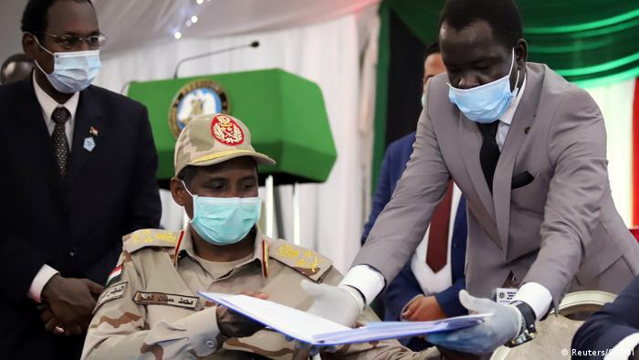 Assinatura do acordo de paz definitiva para o Sudão