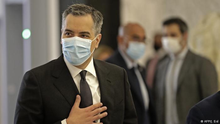 Libanon Neuer Ministerpräsident Mustapha Adib