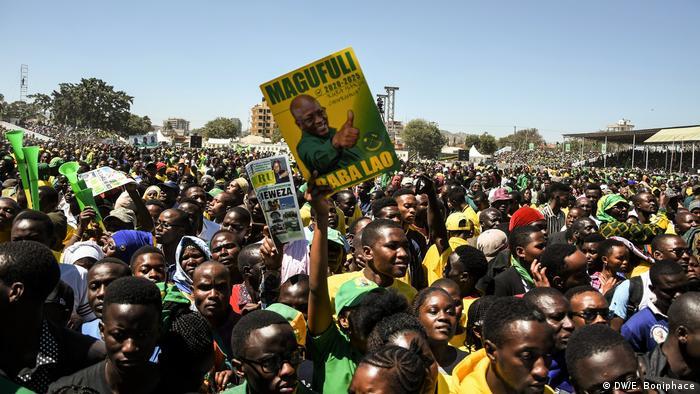 Uzinduzi wa kampeni za Chama Cha Mapinduzi (CCM) mjini Dodoma mnamo 29.08.2020