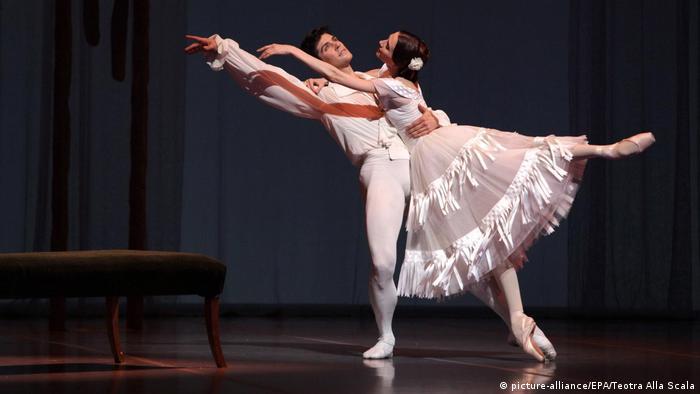 Звезды балета Светлана Захарова и Роберто Болле