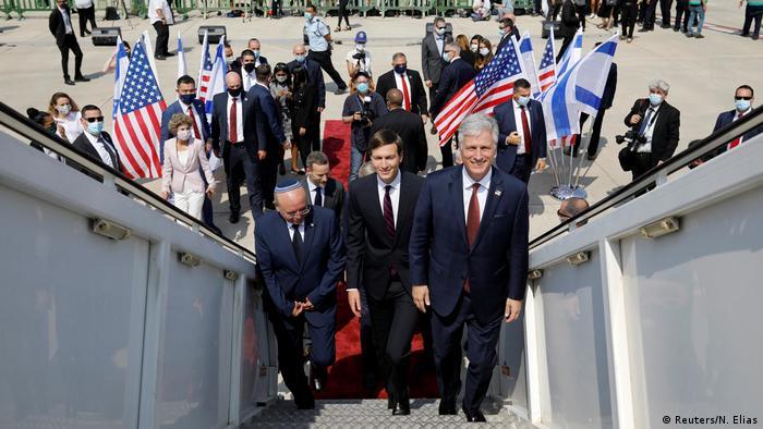 Israelische und US-Beamte fliegen in die VAE (Reuters/N. Elias)
