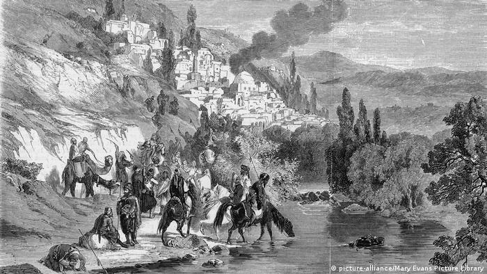 في عام 1860 زادت التوترات الدينية في جبل لبنان المنتمي حينها للإمبراطورية العثمانية، وانتهت في الأخير إلى أعمال عنف مفتوحة بين المسيحيين والدروز.
