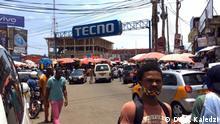 Ghana Accra Coronavirus   Straßenszene