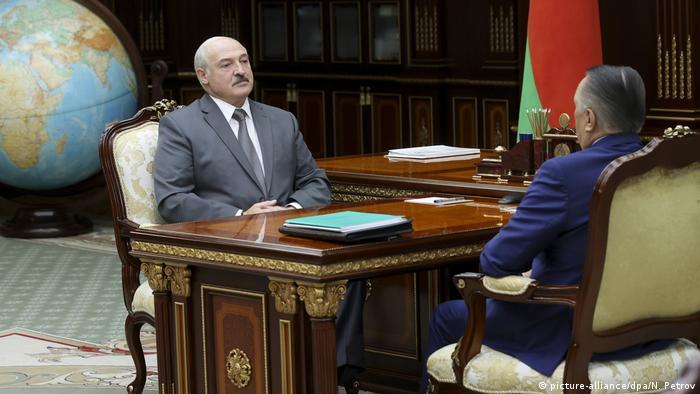 Proteste in Belarus - Lukaschenko