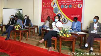 Äthiopien Wahl TV-Debatte Tigray