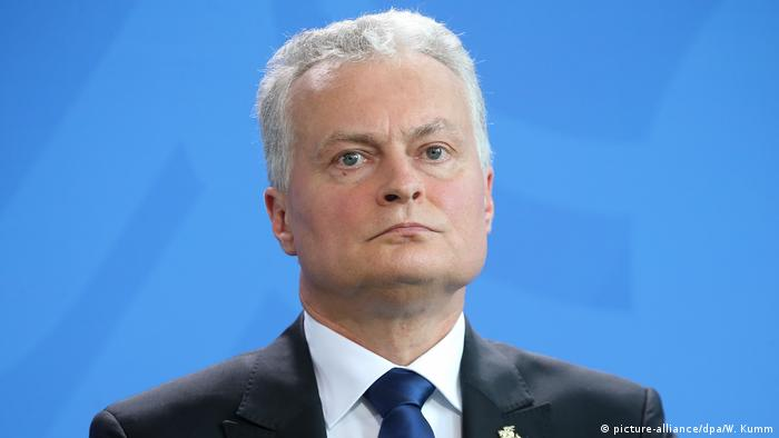 Litauen weist Vorwürfe der Einmischung in Belarus zurück | Gitanas Nauseda (picture-alliance/dpa/W. Kumm)