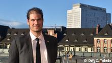 Deutscher Virologe Dr. Felix Drexler in der Charité Berlin