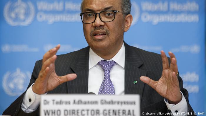 Tedros Adhanom Ghebreyesus, Direktor WHO
