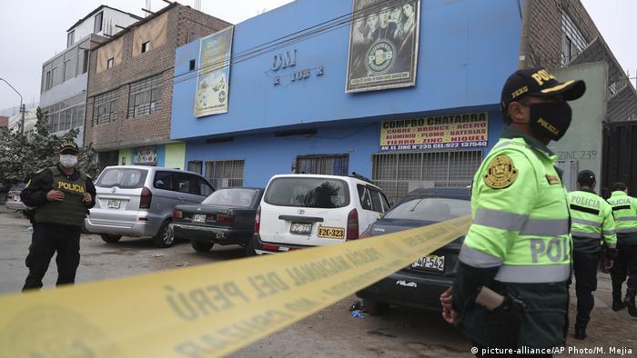 Peru | Coronavirus | 13 Menschen kamen bei einem Ansturm nach einem Polizeieinsatz ums Leben