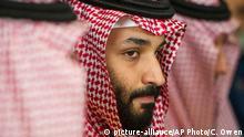USA Washington | Mohammed bin Salmad während Treffen mit Jim Mattis im Pentagon