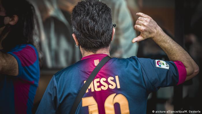 Spanien La Liga gibt Barça im Konflikt mit Messi Recht