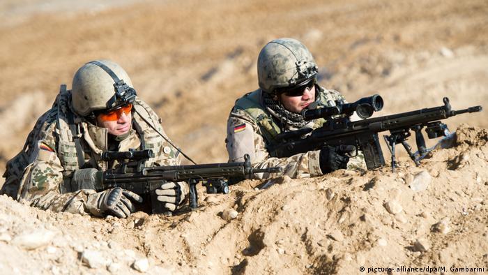 Німецькі військові в Афганістані