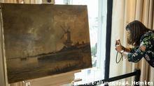 Deutschland Hamburg |Auktion angebliches Van-Gogh-Gemälde