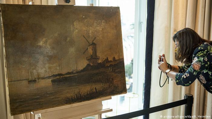 Полотно, созданное предположительно Ван Гогом, продано в Гамбурге по невысокой цене