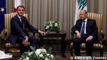Libanon | Emmanuel Macron und Michel Aoun