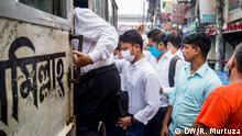 Bangladesch Dhaka in der Corona-Zeit