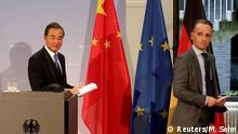 Berlin   Heiko Maas trifft Chinas Außenminister Wang Yi
