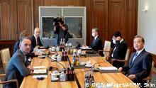 Deutschland Treffen Heiko Maas und Wang Yi in Berlin