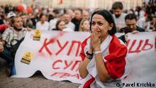 Belarus Protest gegen Lukaschenko in Minsk