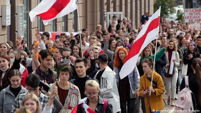Студенческие протесты в Беларуси