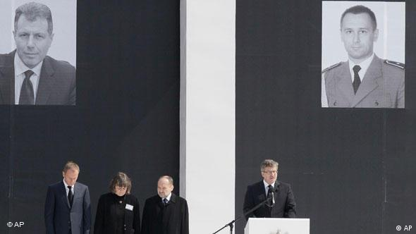Polen trauert um Präsident Lech Kaczynski Flash-Galerie