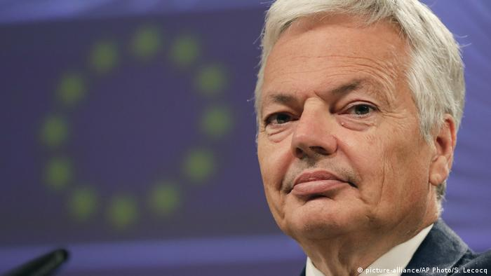 Belgien EU Justiz Didier Reynders