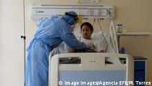 Ecuador Corona-Pandemie | Intensivstation Los Ceibos hospital in Guayaquil