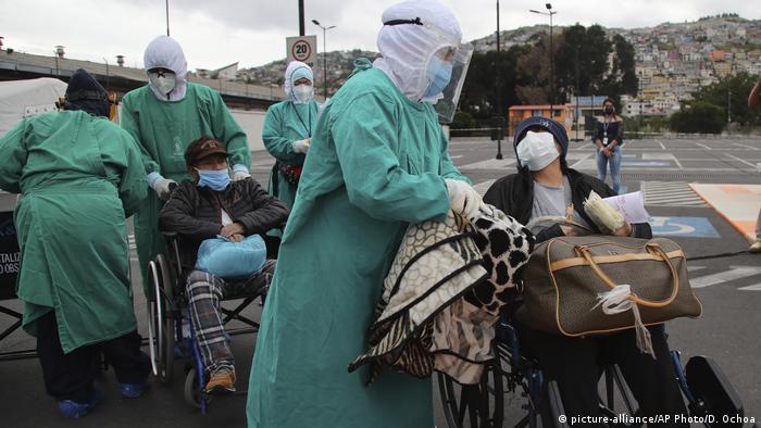 Ecuador Corona-Pandemie | Seguro Social hospital in Quito