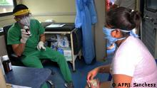 Ecuador Corona-Pandemie | Arzt in Guayaquil