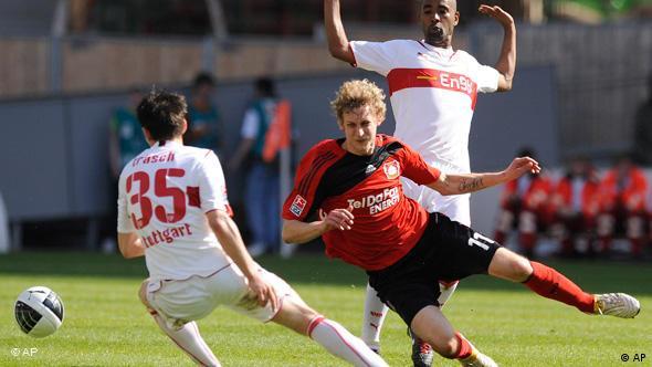 Fußball Bundesliga Spieltag 31 Stuttgart Leverkusen
