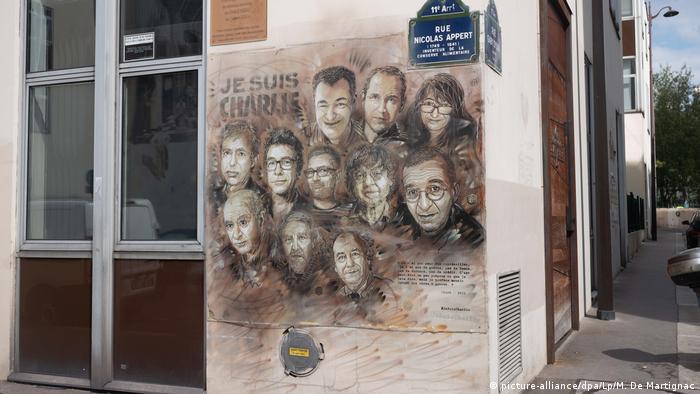 Frankreich | Charlie Hebdo Memorial in Paris