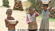 Indien Corona-Pandemie Symbolbild Armut Kinder