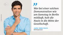 Zitattafel Jaafar Abdul Karim