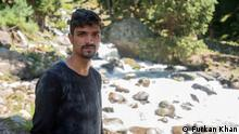 Sartaj Ahmed Magray, 21, a trekking guide who also leads cleanliness drives from alpine and glacial lakes, for Himalayan Welfare Association