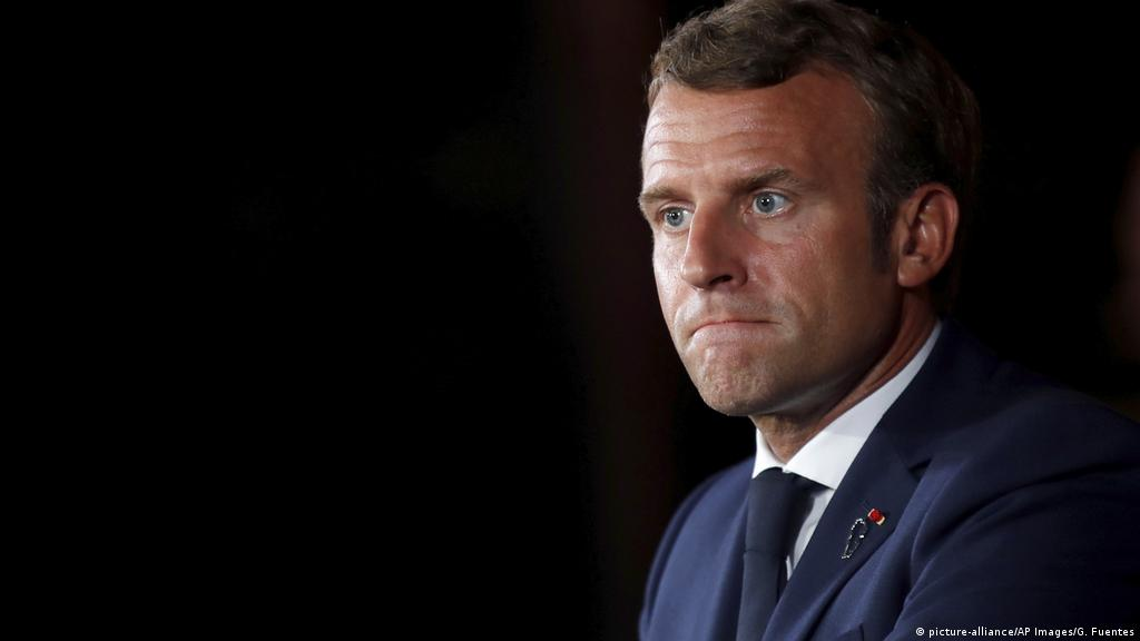 France S Macron Refuses To Condemn Charlie Hebdo Cartoons Of Prophet Muhammad News Dw 01 09 2020