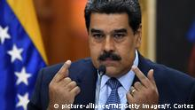 Venezuela Nicolas Maduro (picture-alliance/TNS/Getty Images/Y. Cortez)