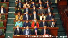 Tunesien Tunis | Neue Regierung im Parlament
