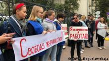 Belarus Proteste gegen Lukaschenko in Minsk