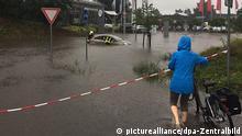 Deutschland Starkregen in Berlin