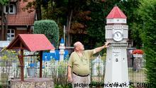 BdT Deutschland Neuschwanstein und Eiffelturm im Vorgarten